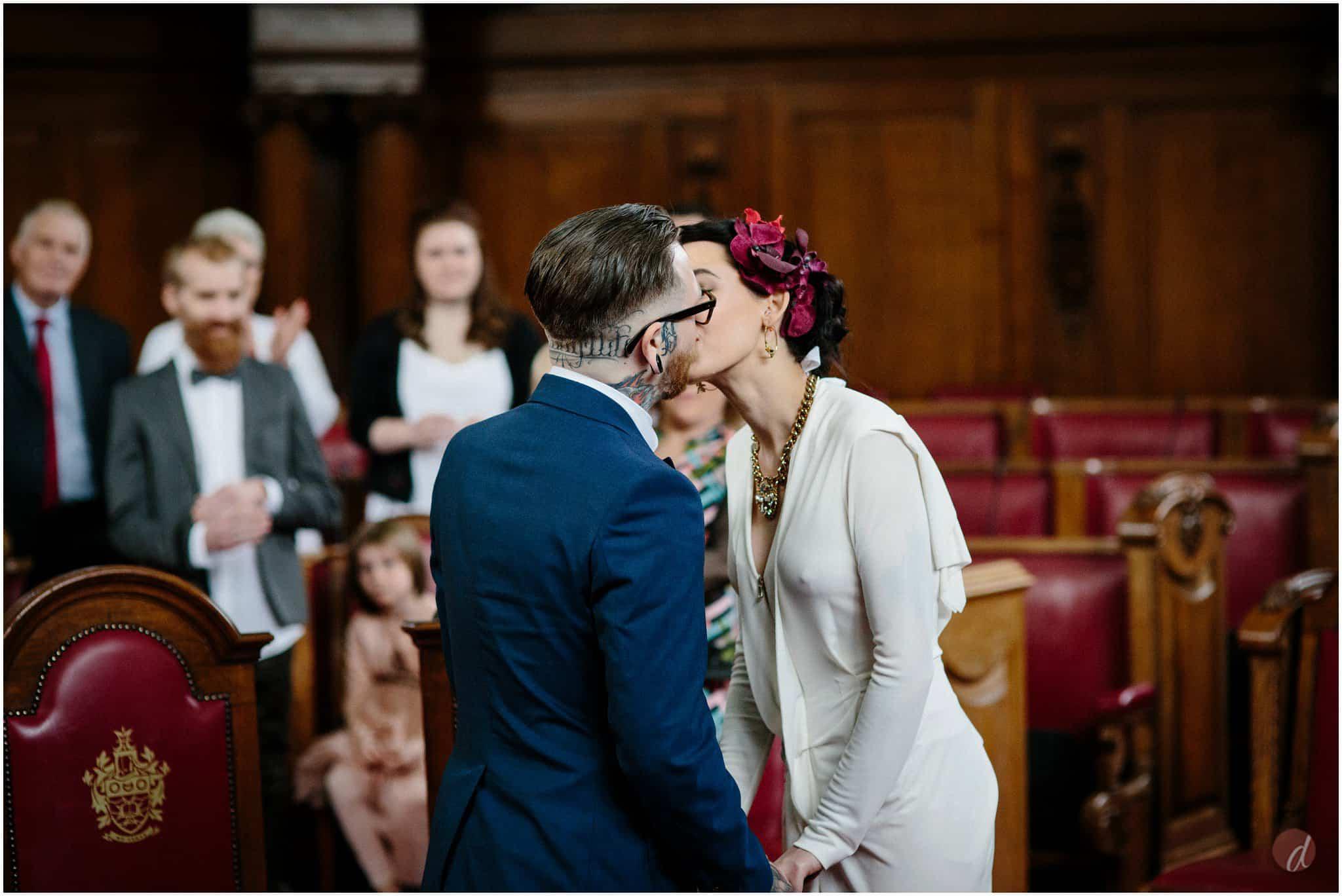islington council chambers wedding