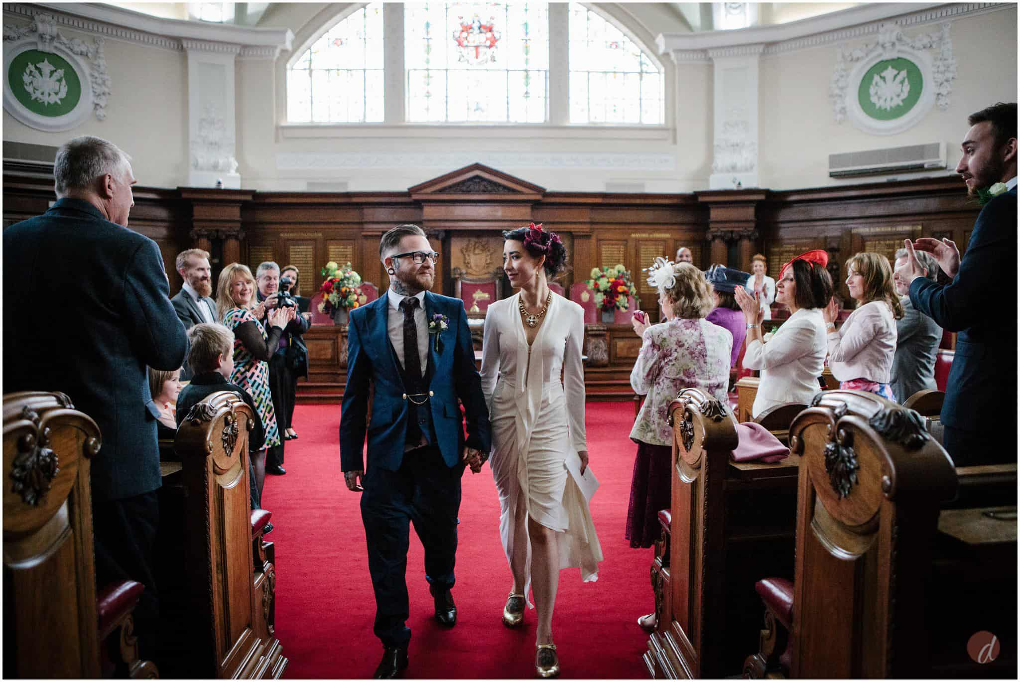 islington council chambers wedding photography