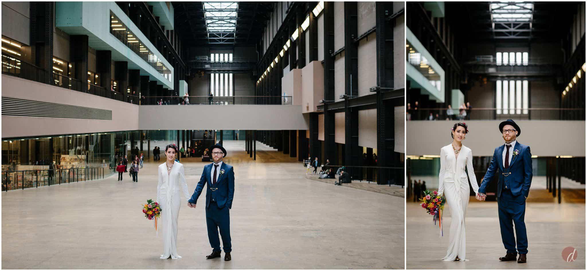wedding tate modern turbine hall