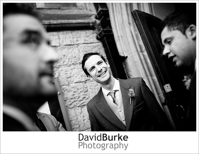 Wedding photography at St Paul's church Rusthall