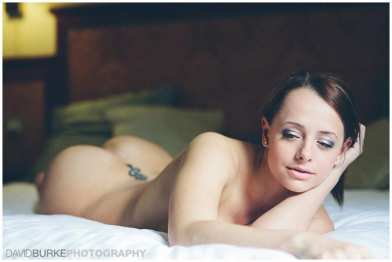 Hotel model art nude Shoot