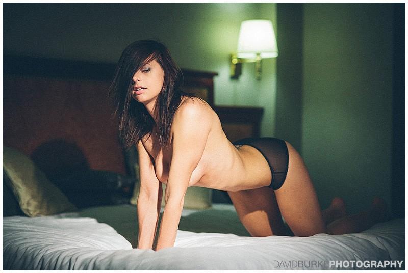 art nude model shoot