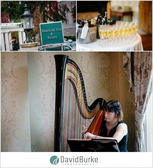 hotel du vin tunbridge wells harpist