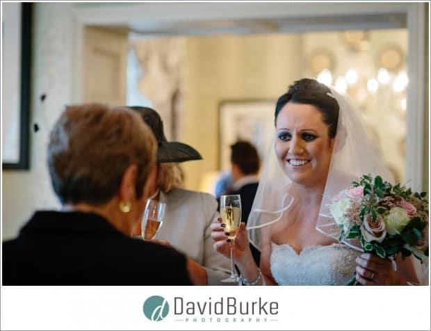 bride in tea lounge hotel du vin