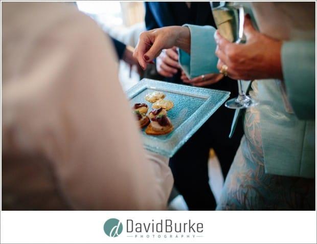 admiring brides wedding ring