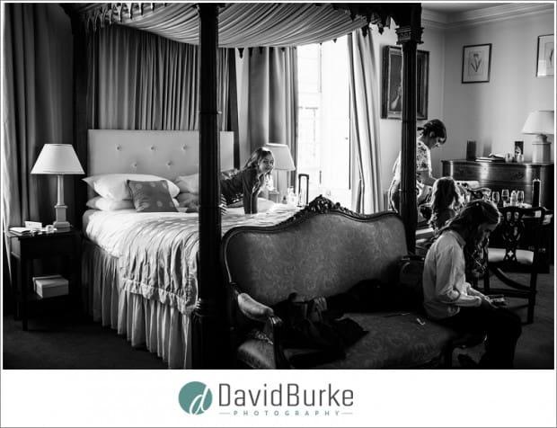 bridal preps chilston park hotel