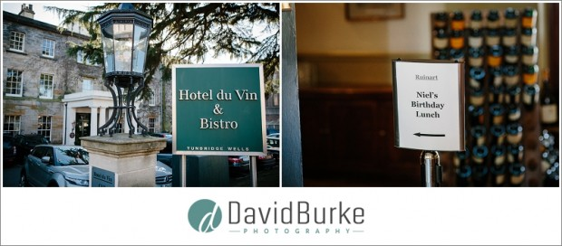 birthday party at hotel du vin