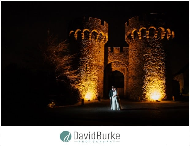 cooling castle bride and groom night