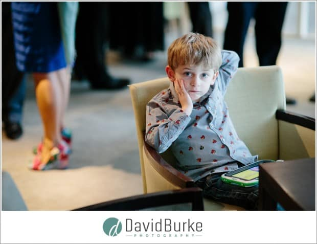 child at Goodwood Hotel wedding
