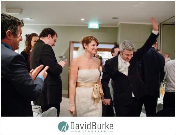 Goodwood Hotel bride and groom