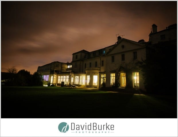 combe bank school at night