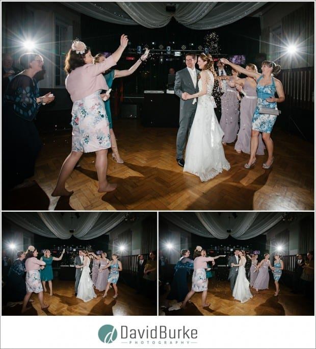 confetti on dance floor