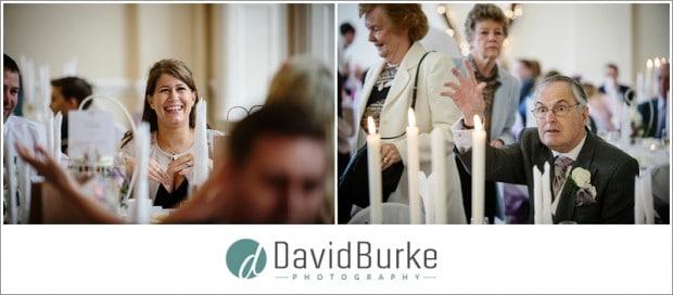 combe bank wedding guests