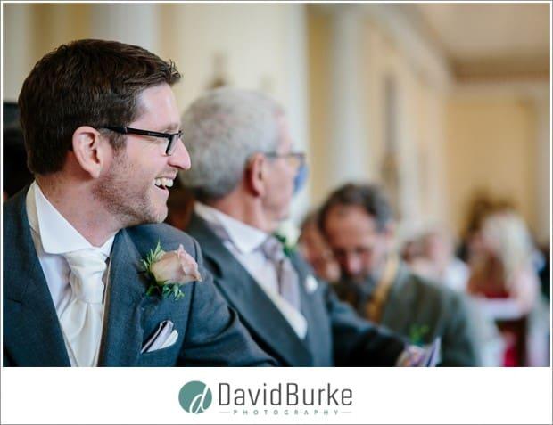 groom in combe bank school chapel