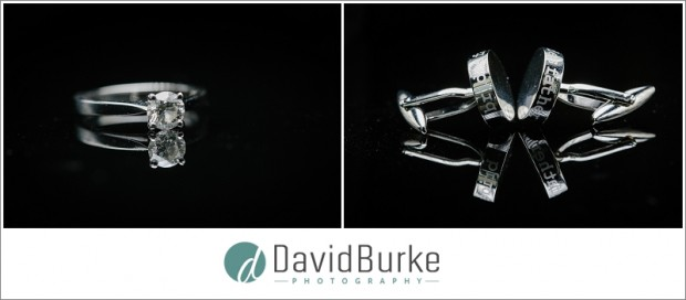 engagement ring andf cufflinks