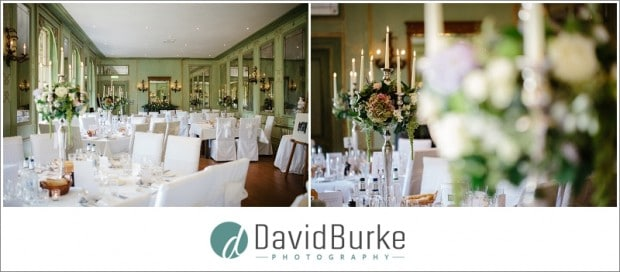 ruinart room wedding details