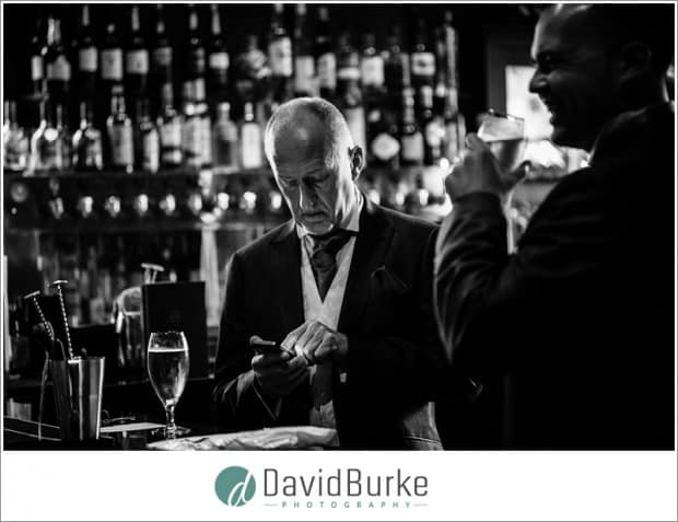 groom in bar hotel du vin