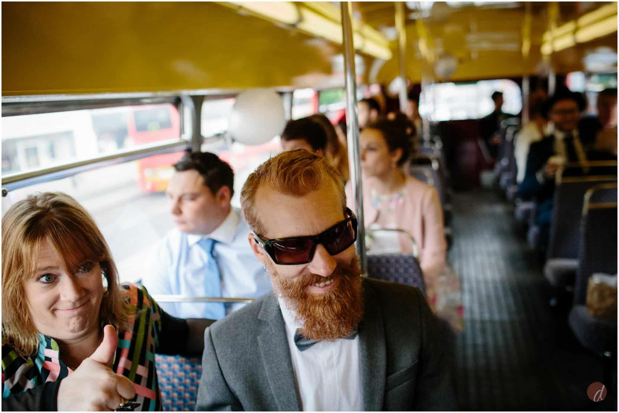 routemaster bus wedding