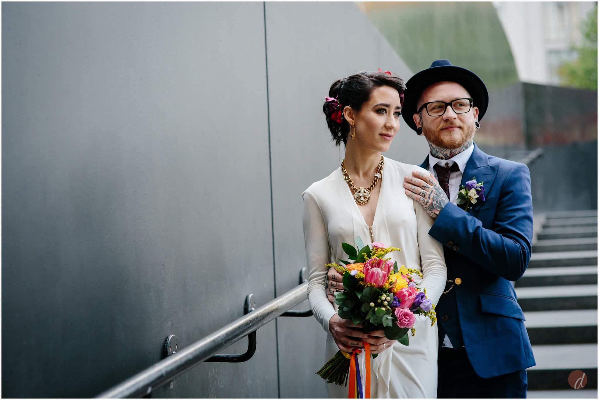 tate modern wedding photography