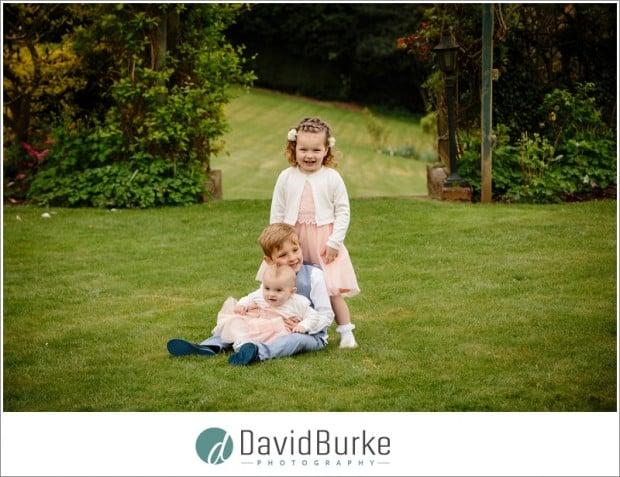 kids on lawn