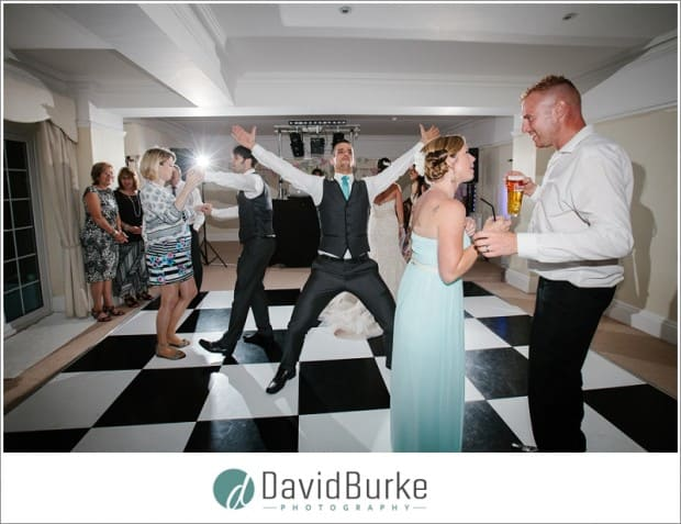 florence house wedding party