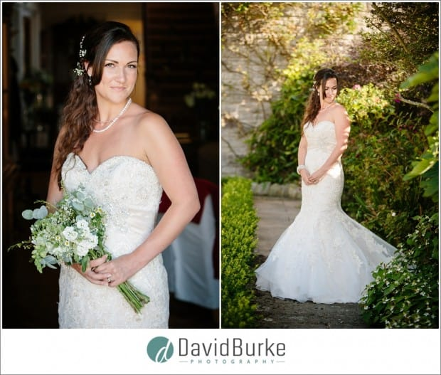 beautiful bride at florence house