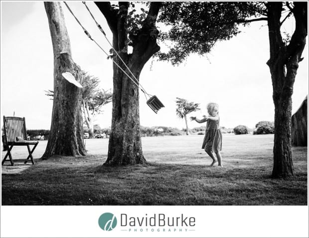 flowergirl with swing