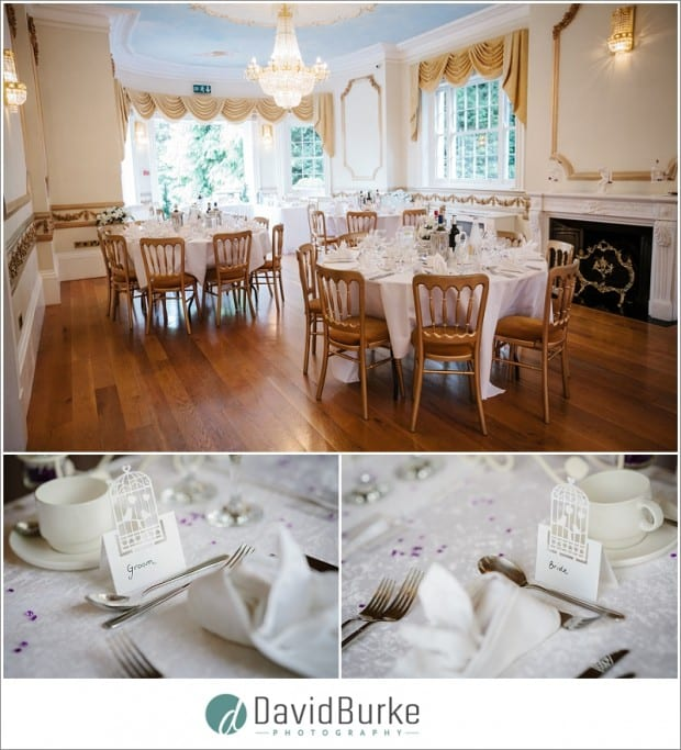 ivory room wedding breakfast