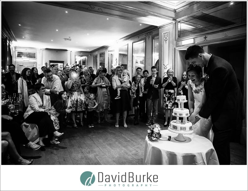 cutting the cake hotel du vin tunbridge wells