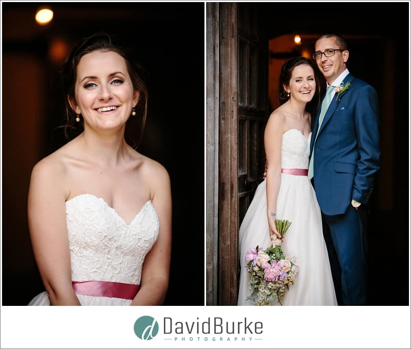 stunning bride and groom