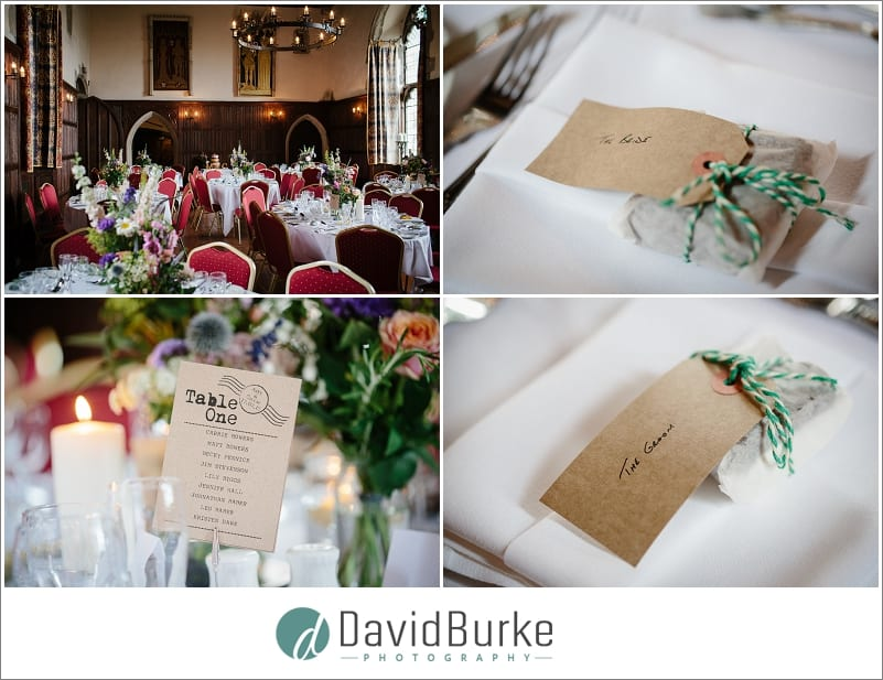 lympne castle wedding detail