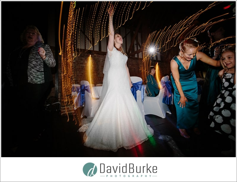 bride dancing cooling castle