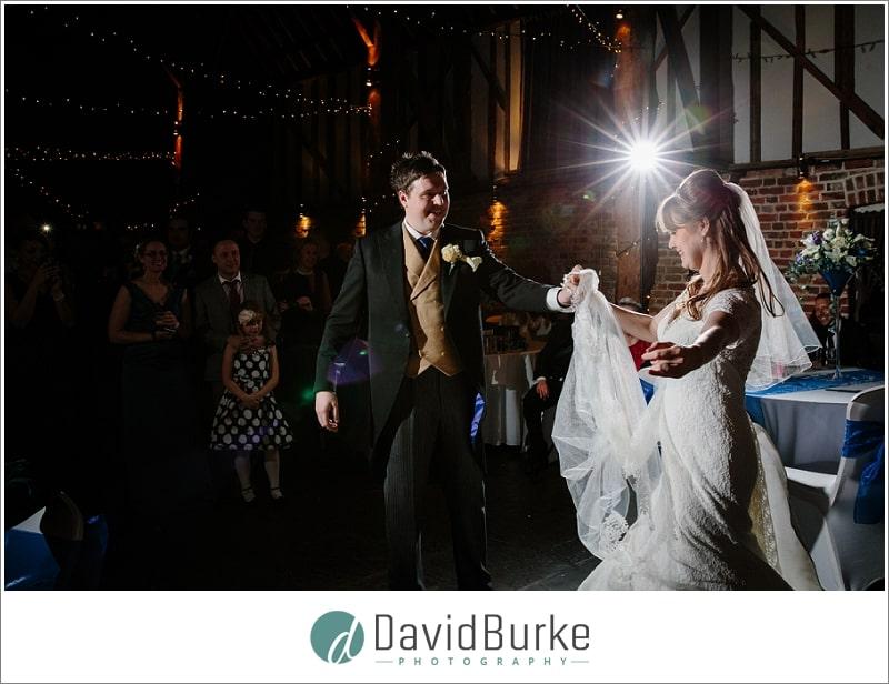 wedding dance cooling castle