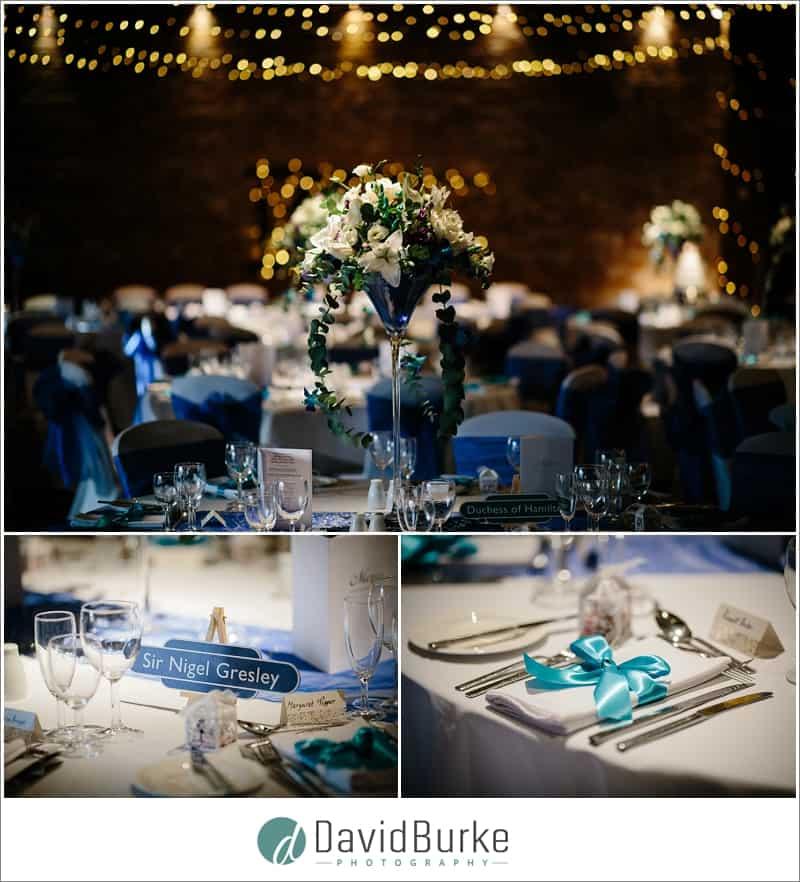 wedding details cooling castle
