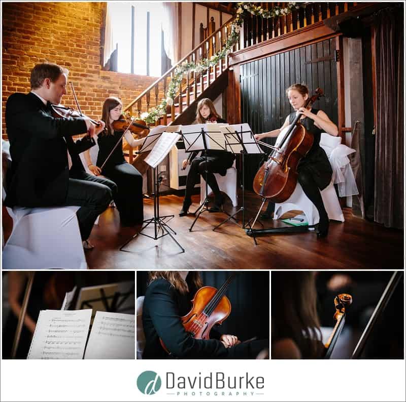 estilo string quartet at cooling castle