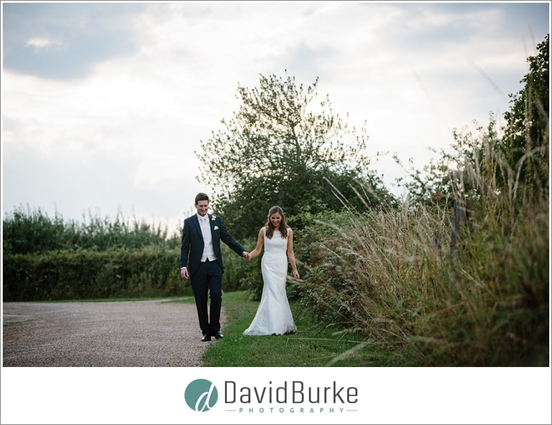 wedding couple great barn rolvenden