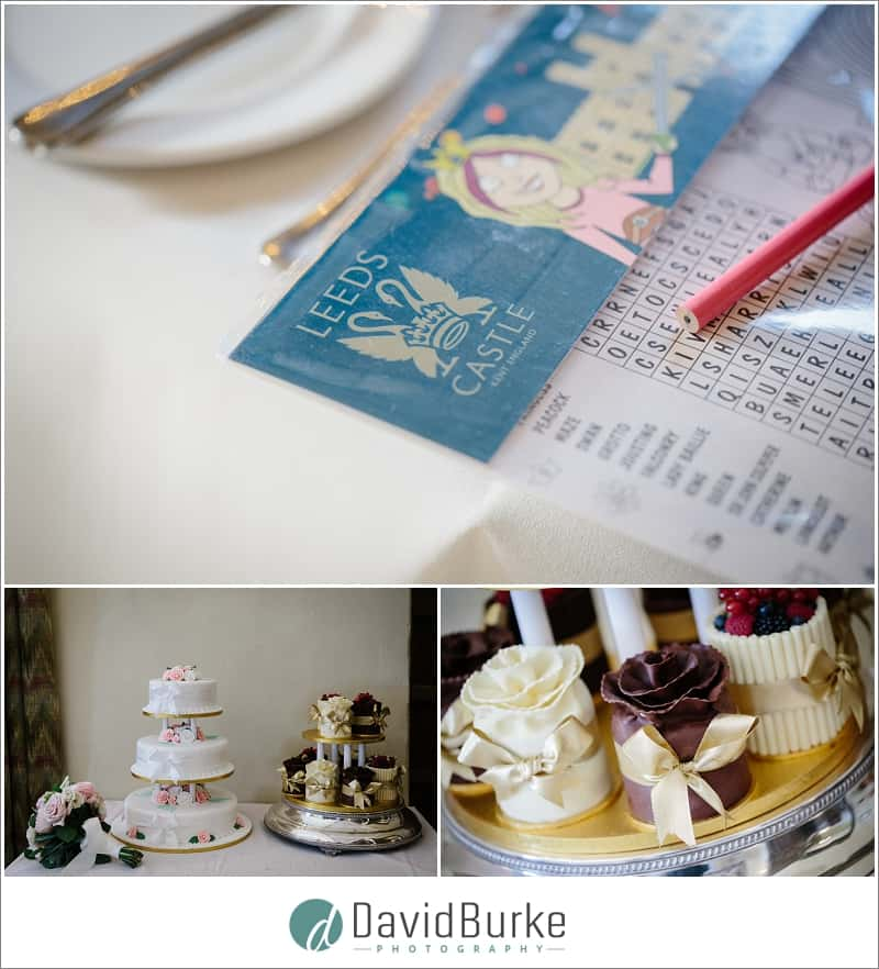 wedding breakfast details leeds castle
