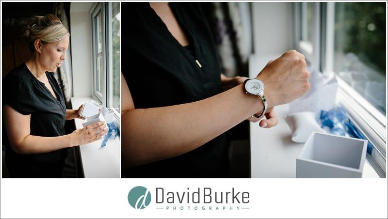 bride's new watch
