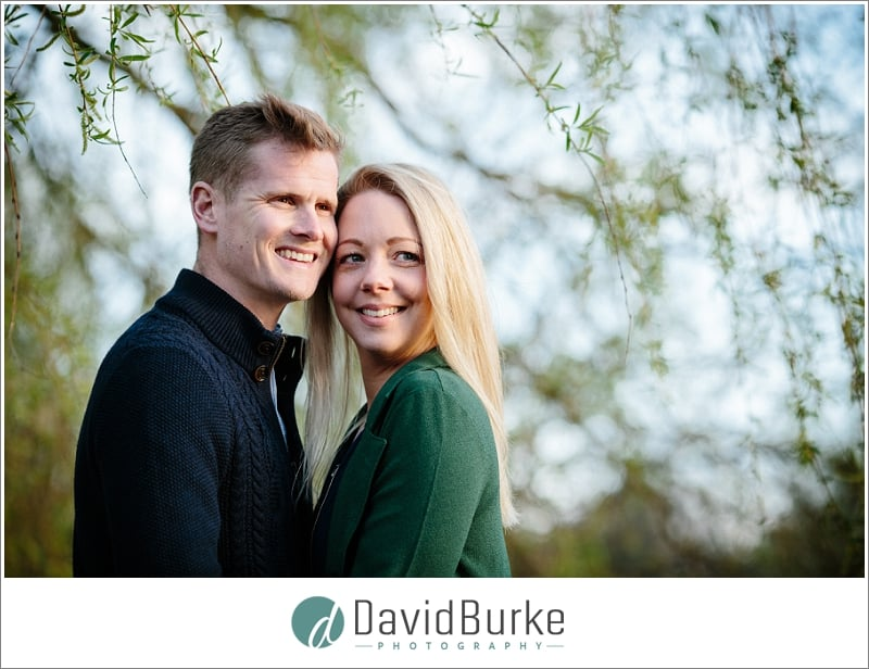 lake meadows pre-wedding shoot