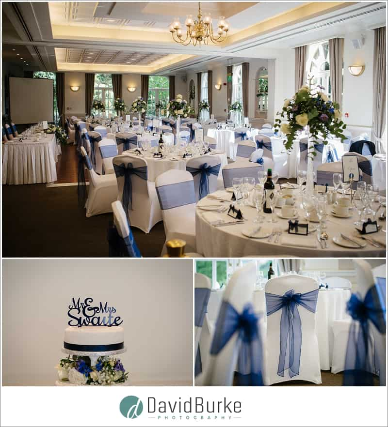 wedding details at the orangery maidstone