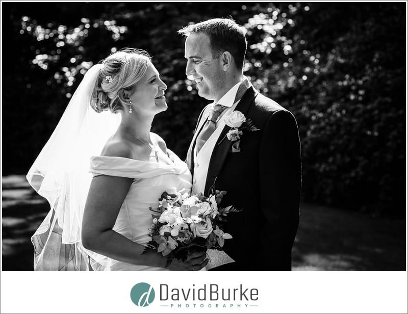 beautiful bride and groom orangery maidstone