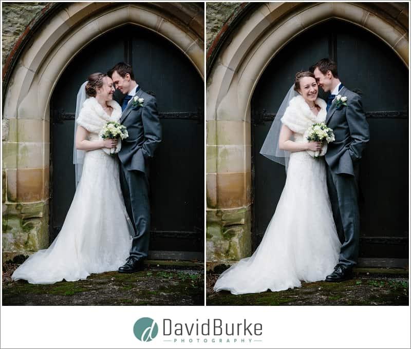 bride and groom portrait st thomas groombridge