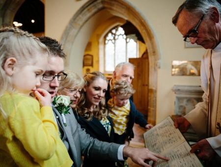 Emily & Dan's surprise wedding vow renewal