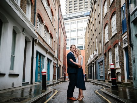 Julia & Andrew | London engagement shoot
