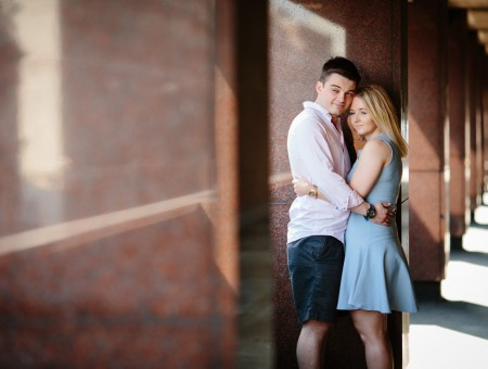 Felicity & Tom | London pre-wedding shoot