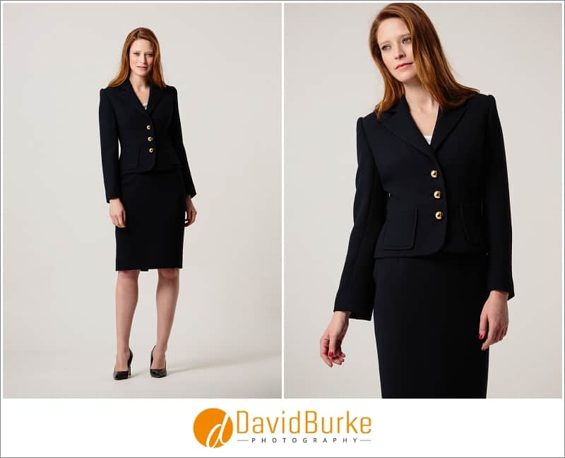 stewart parvin navy blue wool crepe suit