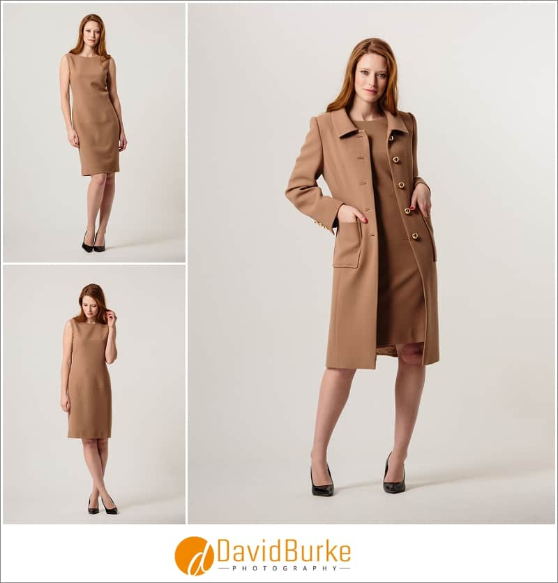 stewart parvin camel crepe dress and coat