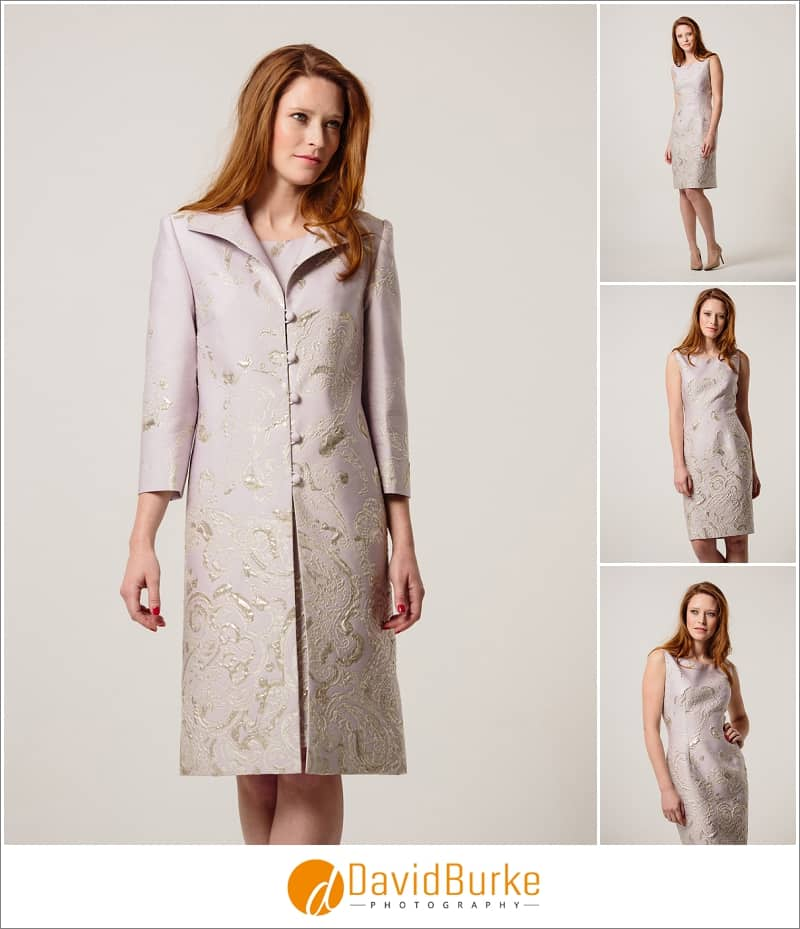 stewart parvin lilac brocade dress and coat