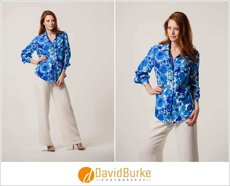 stewart parvin blue floral shirt