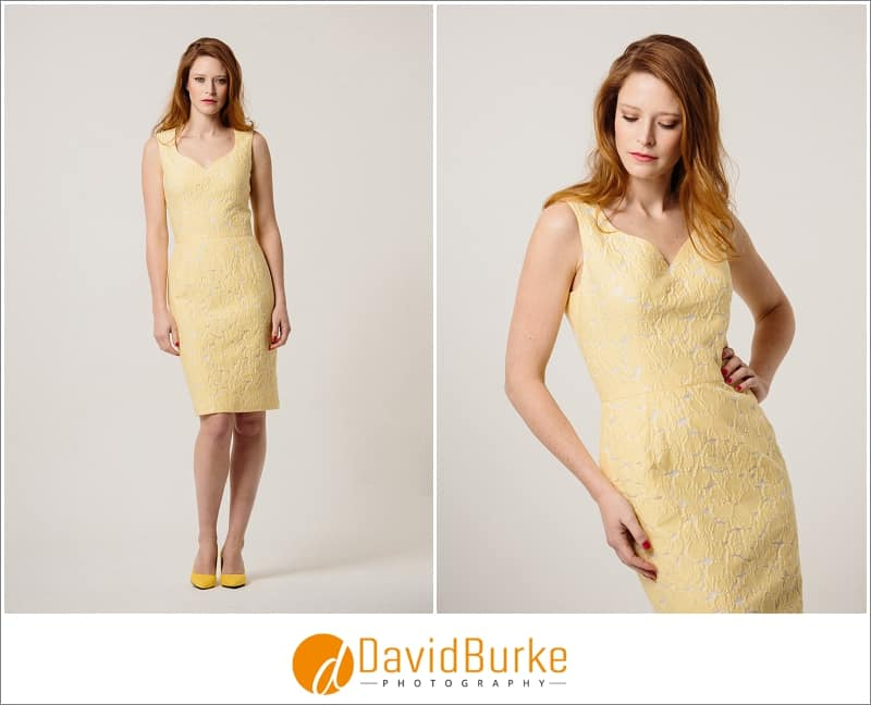 stewart parvin lemon broderie dress